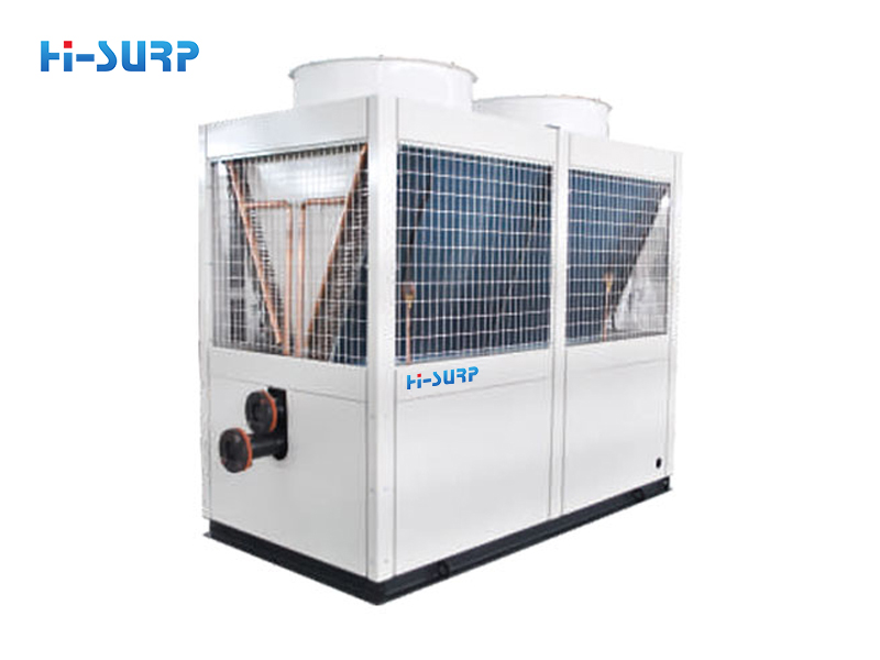 Air-cooled cold/hot water unit
