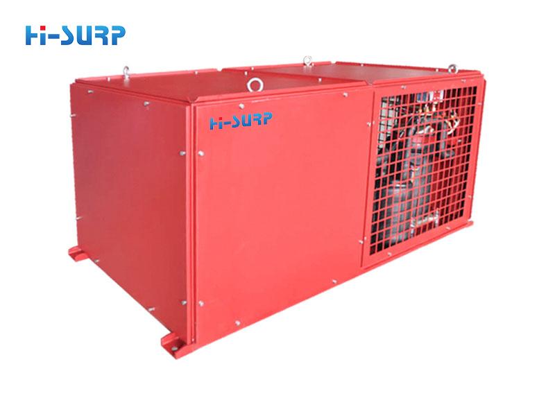 Electrolytic aluminum air conditioner