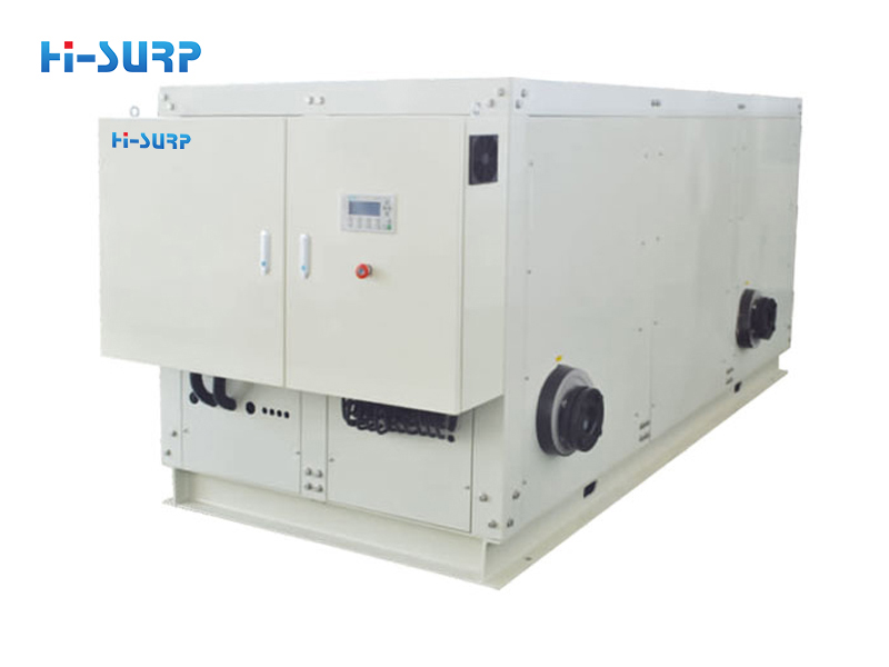 Integrated water-cooled chiller
