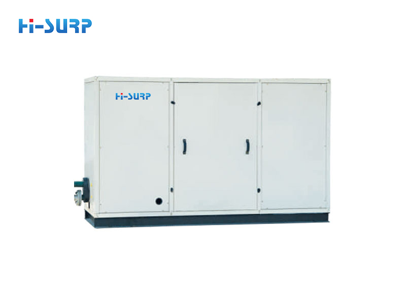 Scroll type water cooled chiller