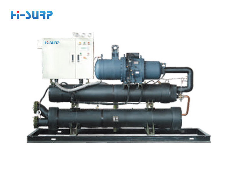 Brief description of the principle of the four-way valve in the chiller