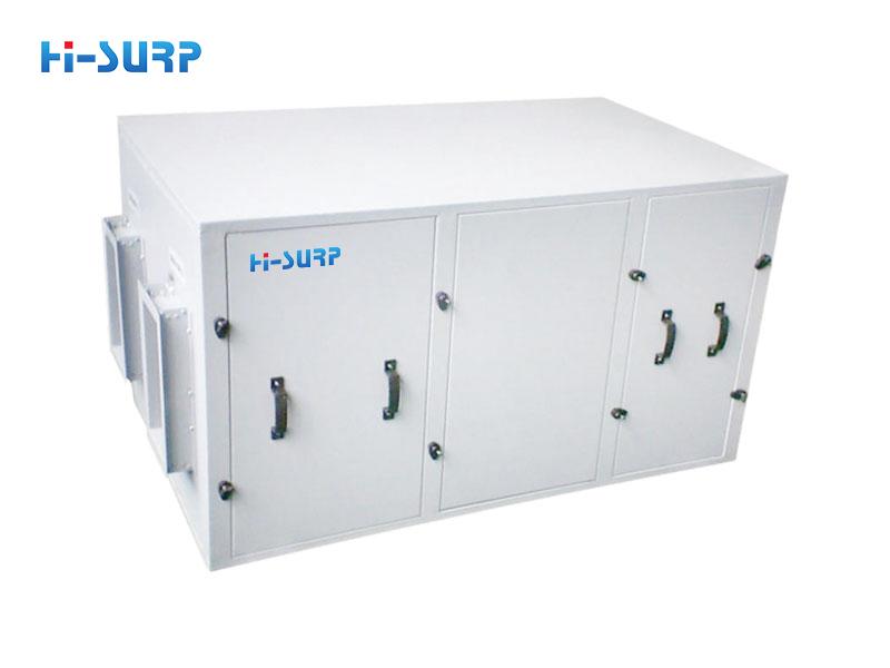 Waste heat recovery condensing heat exhaust fan unit